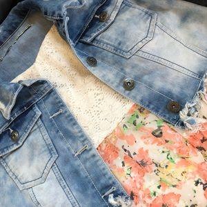 🌼🌸Spring Dress Jean Jacket